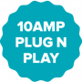 10amp badge