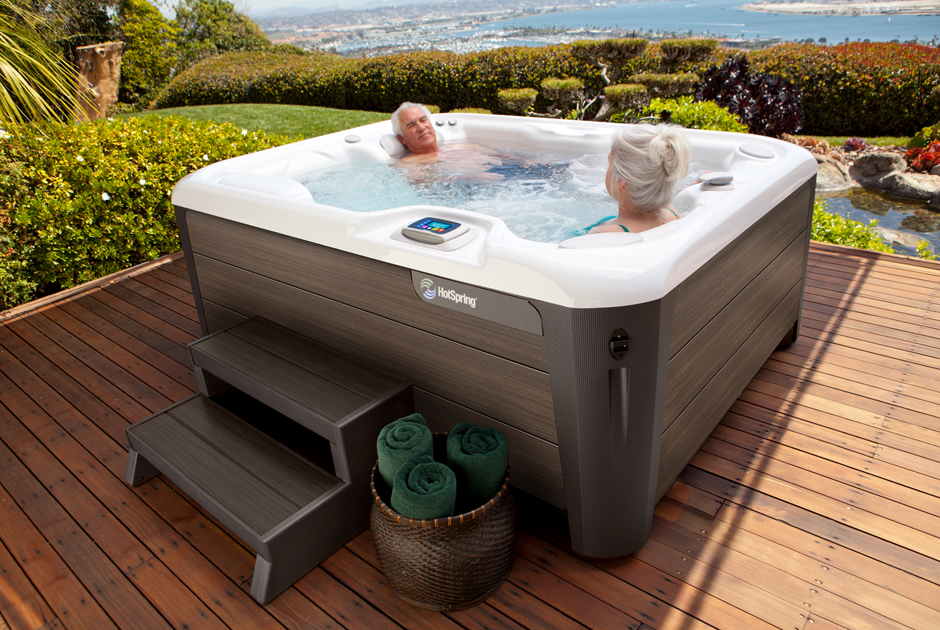 Hot Spring Highlife Jetsetter - The Perfect Backyard Accessory.  | HotSpring Spas