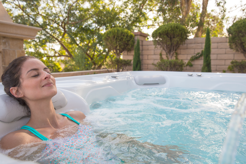 The Highlife® Envoy™ - Solitude after a hard day's work | HotSpring Spas