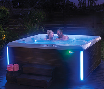 Exterior Lighting | HotSpring Spas