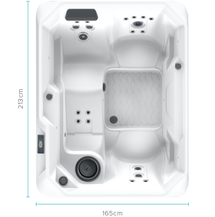 The Stride™ 3 Person Spa Pool | HotSpring Spas