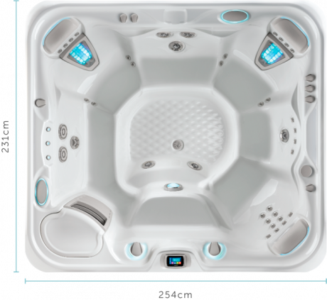 The Grandee™ 6 Person Spa Pool | HotSpring Spas