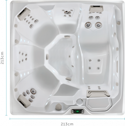 The Flair™ 6 Person Spa Pool | HotSpring Spas