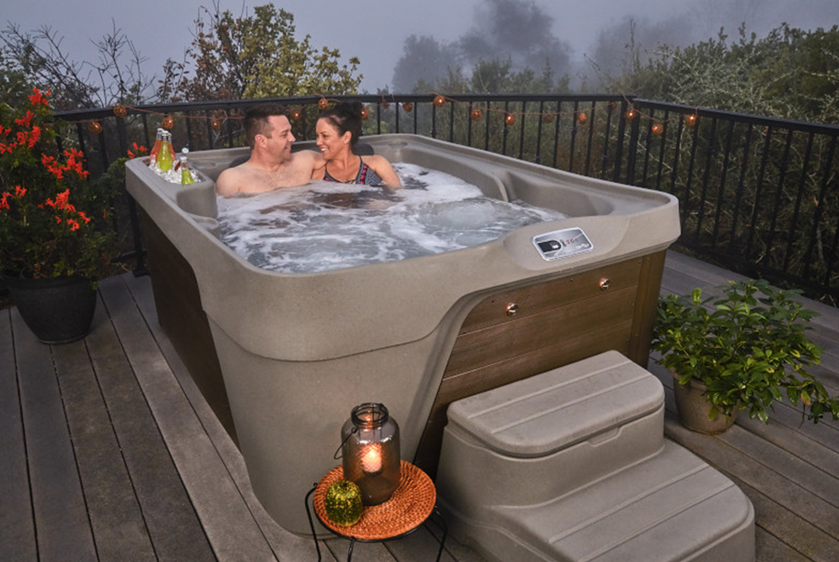 Customise the exterior colours to march your style and complement your deck or backyard. | HotSpring Spas