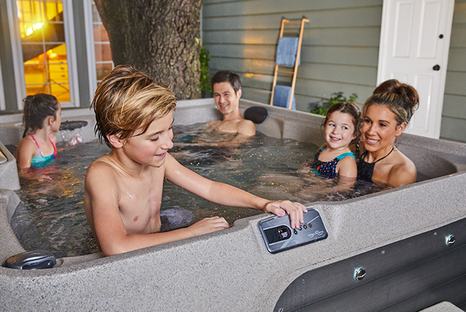 The versatile 5-person Excursion Premier spa pool is the perfect choice. Spend quality time with your family, friends or in complete solitude. | HotSpring Spas
